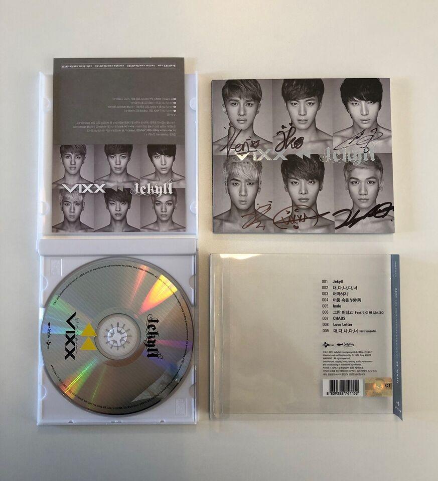 VIXX: Mini Album Vol. 1 Repackage - Jekyll, pop
