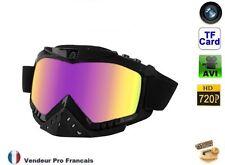 Masque lunettes caméra embarquée sport extrême Moto Cross Ski micro sd HD