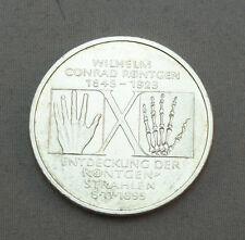 10DM Silbermünze BRD (BR.Deutschland) Jägernr: 461 1995 D  1995