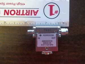 Ferrocom-Isolator-40B45-05-SMA-1-Port-Female-1Port-Male-5-9-to-7-125-GHz