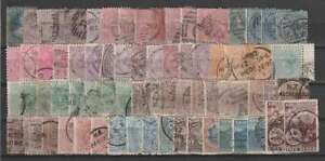 D1934 : 19th C Nouvelle-Zélande Tampon Lot ; Cv