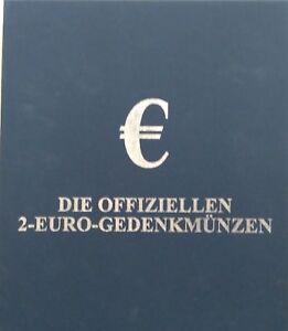 SchöN 2 Schuber Für Die Aufbewahrung Von Jeweils Für 30 Münzen - 2 € Verschiedene Stile