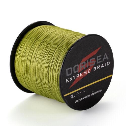 Power Braid Dorisea Army Green pe Braided Fishing Line 100m//300m//500//1000m//2000m