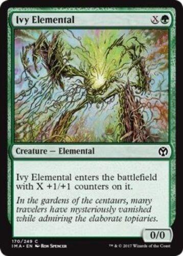 4 x Ivy Elemental (170/249) - Iconic Masters - Common
