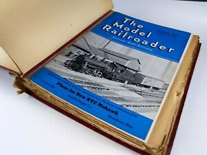 Model-Railroader-Magazines-1941-Lot-12-Issues-Complete-Year-Kalmbach-Publishing