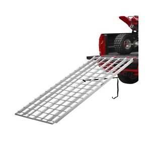 Aluminum Atv Ramps >> Details About Black Widow Aluminum Extra Long Bi Fold Atv Ramps Ibf 9550 50 Inches Wide