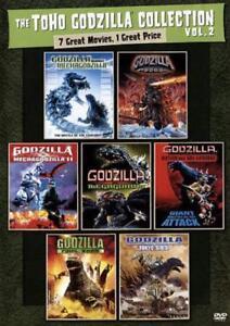 THE TOHO GODZILLA COLLECTION VOL. 2 NEW DVD