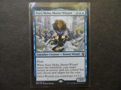 MASTER WIZARD X4 Dominaria DOM Magic MTG MINT CARD NARU MEHA