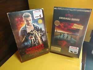 Stranger-Things-Seasons-1-amp-2-Blu-ray-DVD-Target-Exclusive-VHS-Packaging-NEW