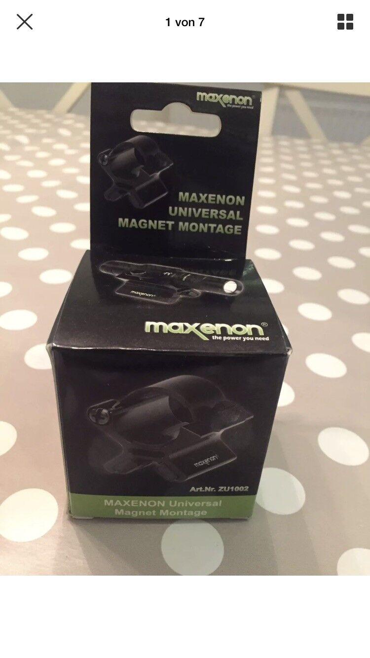 Maxenon Universal Universal Universal Magnet Montage Zu1002 Taschenlampe 3d24f5