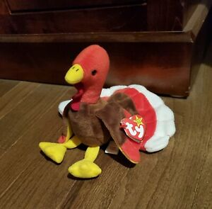 Ty Beanie Baby Gobbles style 4034 PVC 1996 retired