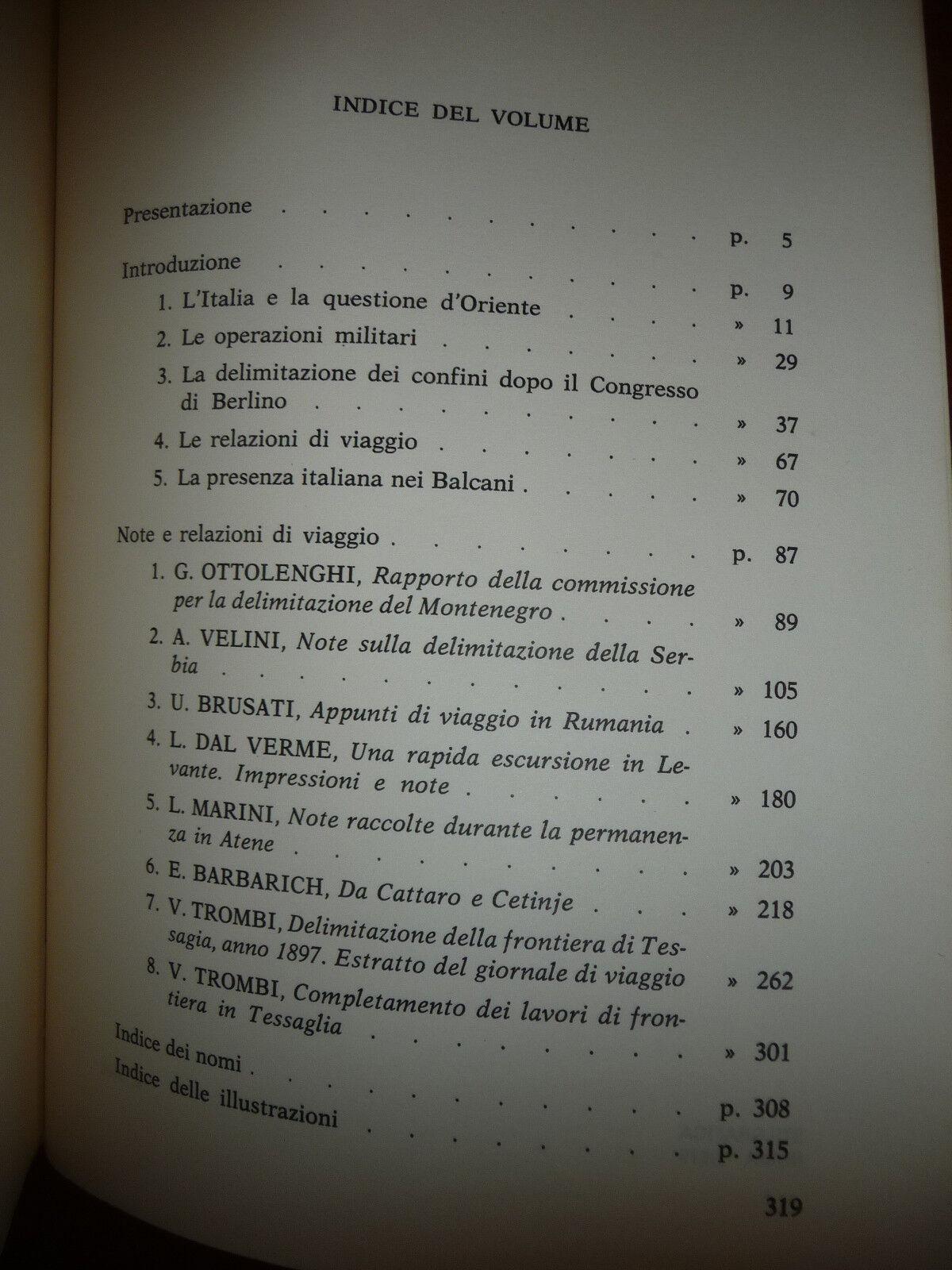 NOTE E RELAZIONI DI VIAGGIO NEI BALCANI 1879-1898 ANTONELLO F.M. BIAGINI