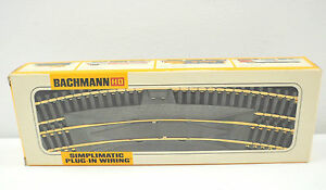 Details about Vintage Bachmann HO Simplimatic Plug-In Wiring Train Tracks