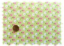 Flowers Stretch-Jersey grün Hilco Shirtstoff by JaTiJu 50 cm