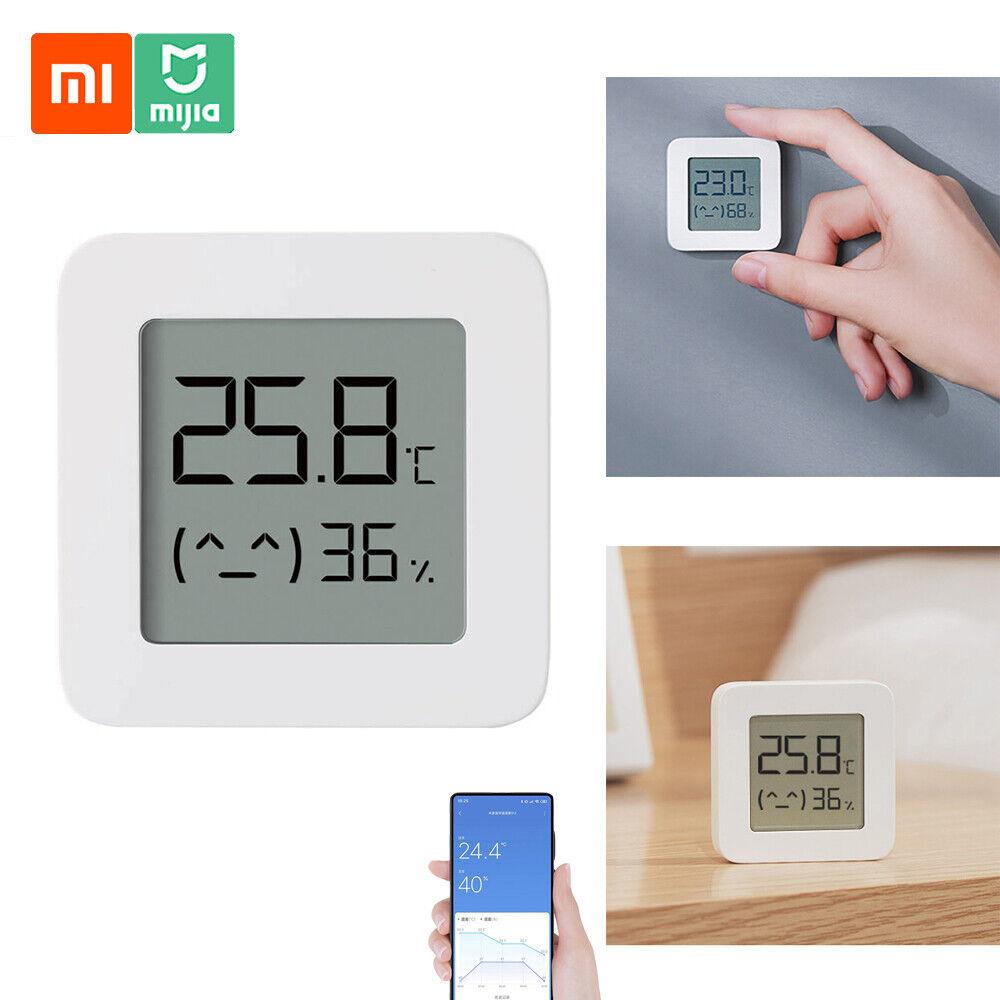 Xiaomi Mi Smart Thermometer Hygrometer Temperature/ Humidity Sensor APP  Control for sale online | eBay