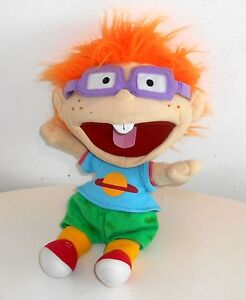 1995-Vintage-Rugrats-CHUCKY-15-034-Plush-Handpuppet-Toy-D4