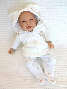 Tiny Baby Geschenk 3 Tlg Baby Set Fruhchen Bis 3 Monate Ebay