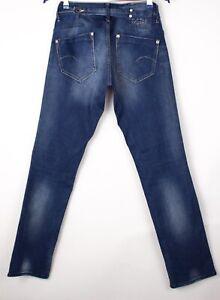 G-Star Raw Damen Midge Gerade Slim Jeans Größe W29 L32 ARZ770