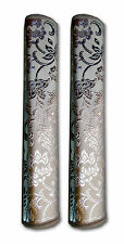 Silver Color  Fridge / Refrigerator Handle Cover (1 Pair)