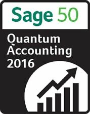 NEW Sage 50 Quantum Accounting 2016 - 1 User - NOT a Subscription