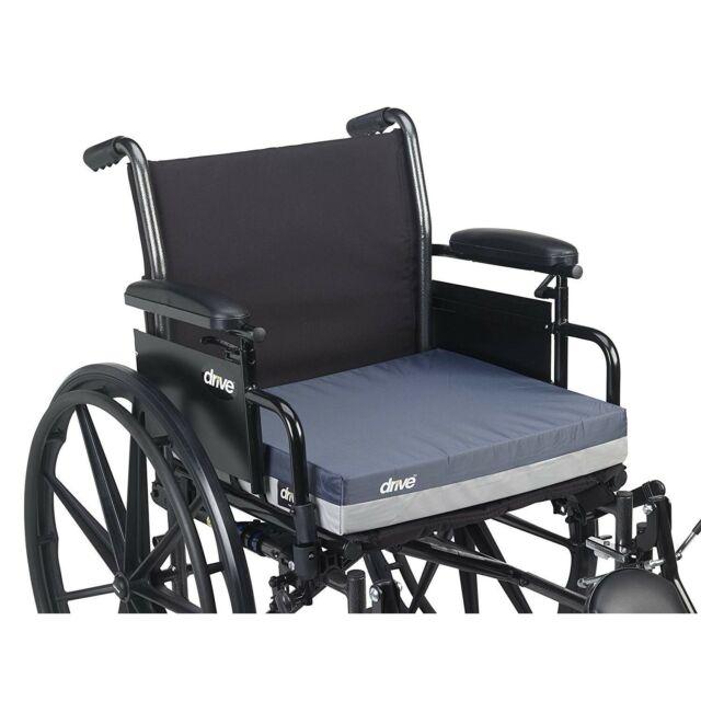 Gel Wheelchair Cushion Padded Non Slip Seat Office Chair Car Waterproof Cover