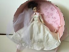 "Forever Yours, Tiny Kitty Collier, Tonner Brunette Bride Hat Box, 10"" Doll, NRFB"