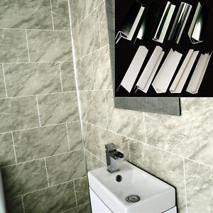 grey marble tile groove bathroom wall panels shower