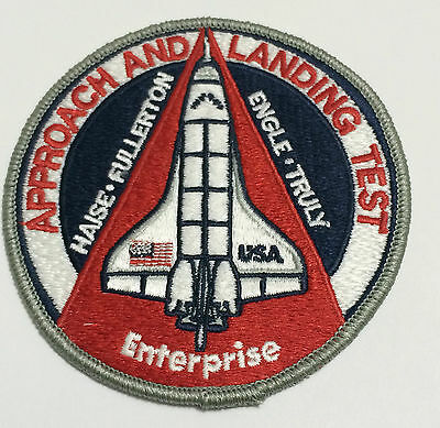 APPROACH AND LANDING TEST ENTERPRISE NASA STS SHUTTLE PATCH AB EMBLEM MADE USA