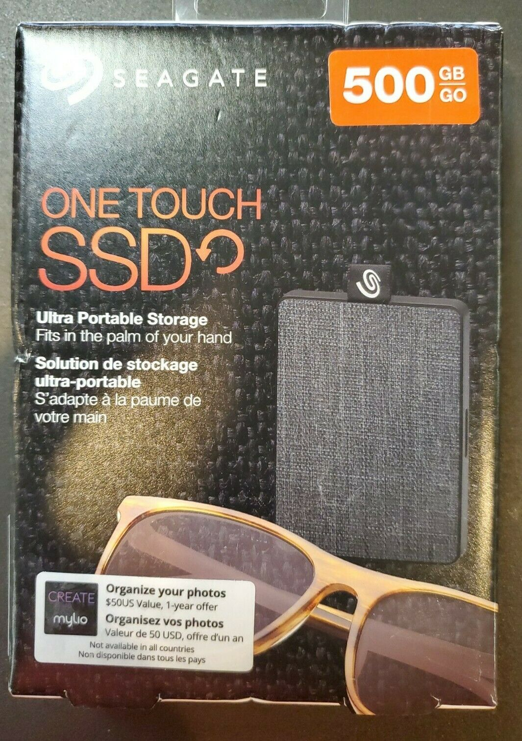 Seagate 500GB One Touch Portable SSD Solid State Drive (External - USB 3.0)New!. Buy it now for 52.00