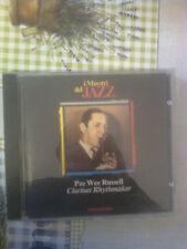I MAESTRI DEL JAZZ - PEE WEE RUSSELL  - (ED. DE AGOSTINI)  CD