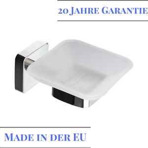 Seifenschale Seifenablage Seifenhalter Glas Und Edelstahl