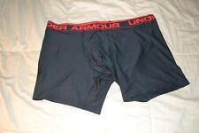"Red SMALL S Under Armour Men/'s Original Series 6/"" Boxerjock Boxer Briefs Black"