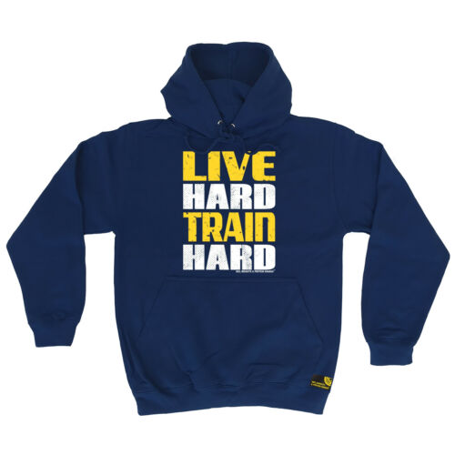 Live Hard Train Hard SWPS HOODIE hoody birthday workout gym fitness training