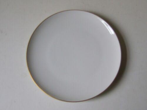 KPM/_Trude Petri/_Urbino/_weiß/_Goldrand/_ Kuchenteller/_20,5 cm/_I.Wahl