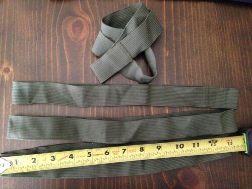 Webbing 1 1//4 inch Black Blue Green Elastic Strap Band 1 ft long