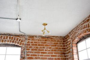 Mid-Century-Chandelier-Brushed-Brass-3-Bulb-Sputnik-Semi-Flush-Industrial-Light