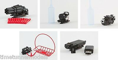 Ares QX130/HD/Shadow 240 QUAD Accessories - Camera/Bubble/Winch/Water/Rocket