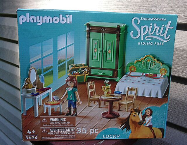 Playmobil Spirit Riding Free Lucky's Room Playset - New
