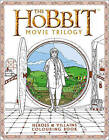 The Hobbit Movie Trilogy Colouring Book: Heroes and Villains by Warner Brothers, J. R. R. Tolkien (Paperback, 2017)
