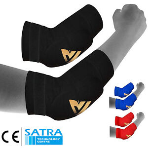 RDX-MMA-Elbow-Support-Brace-Sleeve-Pads-Guard-Bandage-Elasticated-Shield-Protect