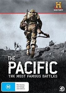 The-Pacific-The-Most-Famous-Battles-DVD-4-Disc-Set-New-Sealed-Region-4