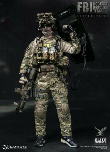 DAMTOYS 78042 1//6th FBI HRT AGENT HOSTAGE RESCUE TEAM Male Soldier Figure Toys