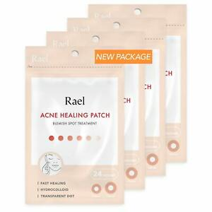 Rael-Hydrocolloid-Acne-Pimple-Healing-Patch-4-Packs-Invisible-96-count