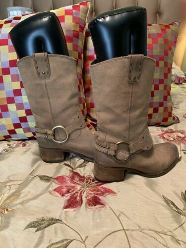 Johnston Murphy Ankle Cowboy Boots 7.5