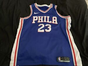 new style 6c237 e4fdb Details about Nike Jimmy Butler Philadelphia 76ers Jersey Size XL