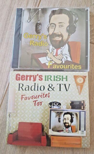 2 Double CD's Gerry's Irish Radio Favourites + Radio & TV Favourites Too