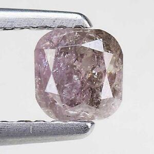 Video-0-68-Ct-Rare-Cushion-100-Untreated-Natural-Fancy-Purple-Pink-Diamond