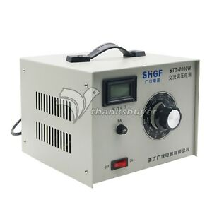 STG-2000W-Single-Phase-AC-Autotransformer-Voltage-Regulator-0-300V-Powerstat-2KW
