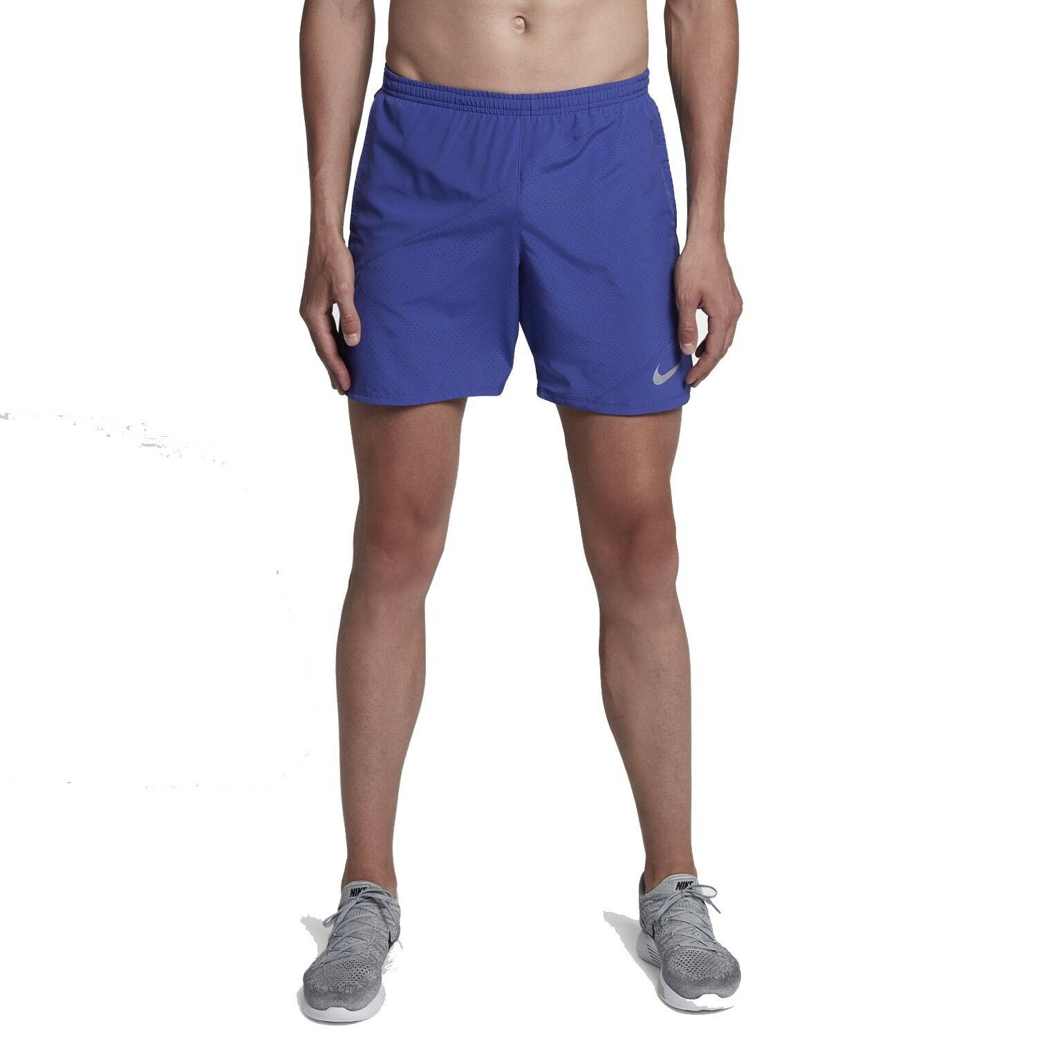 NIKE Flex Distance 2-in-1 Men's 7   Running Shorts 834213-510 bluee Size S New