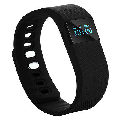 OLED Smart Wrist Band Bracelet Watch Health Pedometer Bluetooth for Android IOS